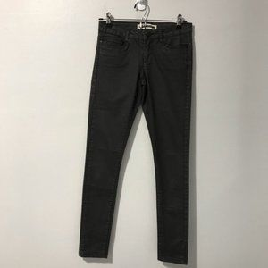 Noisy May LW Super Slim Coated Jeans